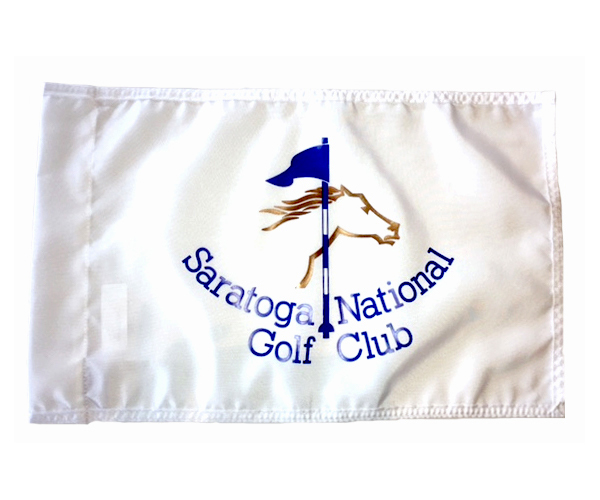 picture of Saratoga National pin flag